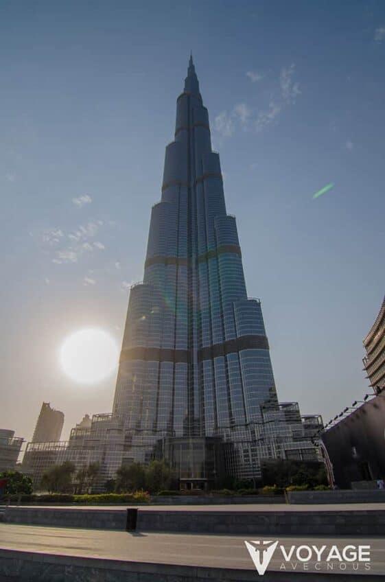Dubai Mall Facade