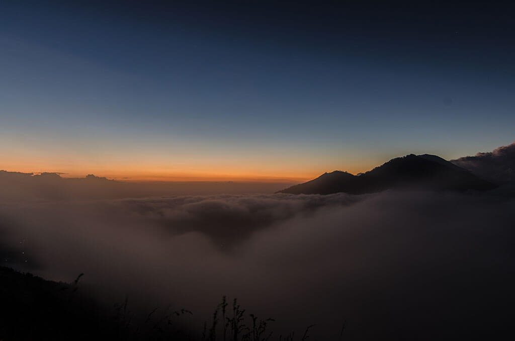 lever de soleil mont batur