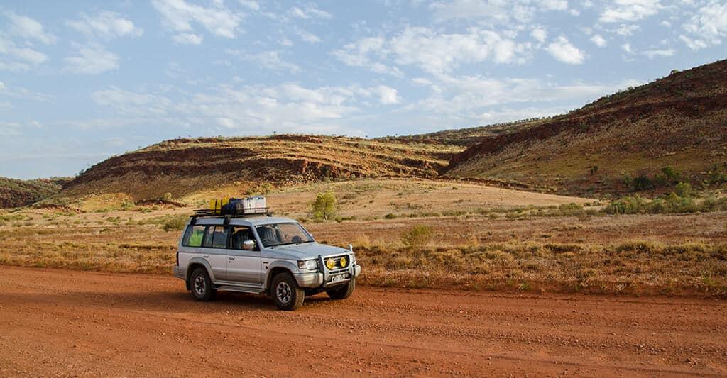 Chemin 4x4 en Australie