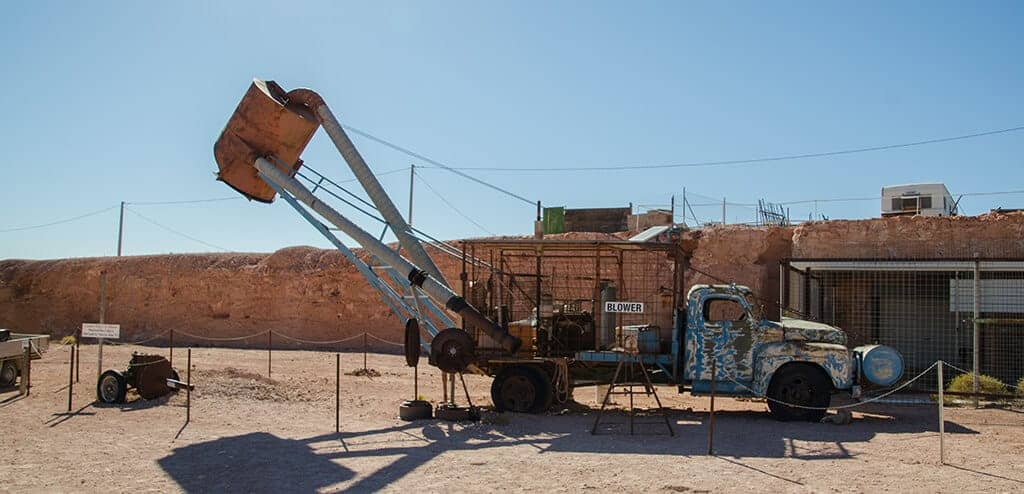 The blower - Coober Pedy
