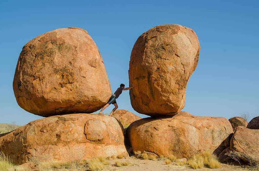 Devils Marbles - Australie