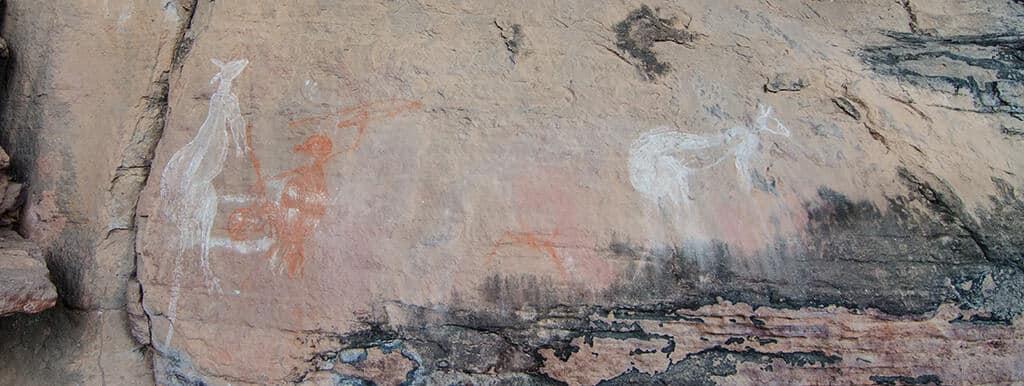 Peintures aborigènes du Kakadu