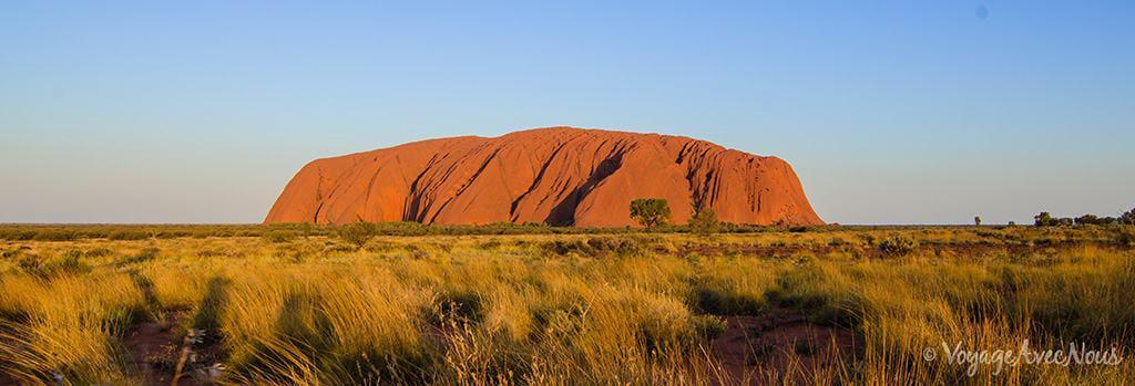 Uluru, l'un des endroits les plus connus d'Australie