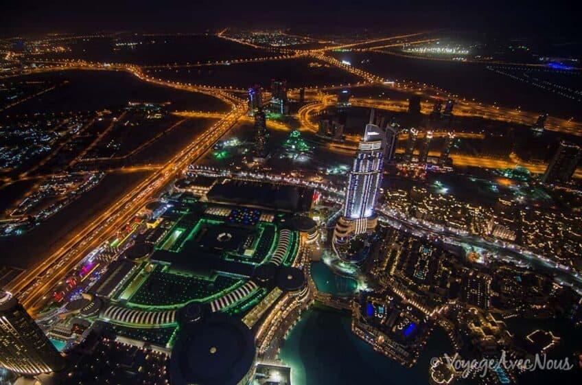 visiter dubai - burj khalifa
