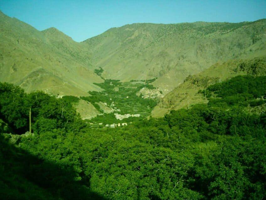 Paysages verts du Maroc