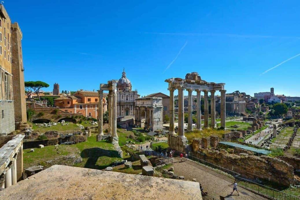 visiter le forum romain à rome