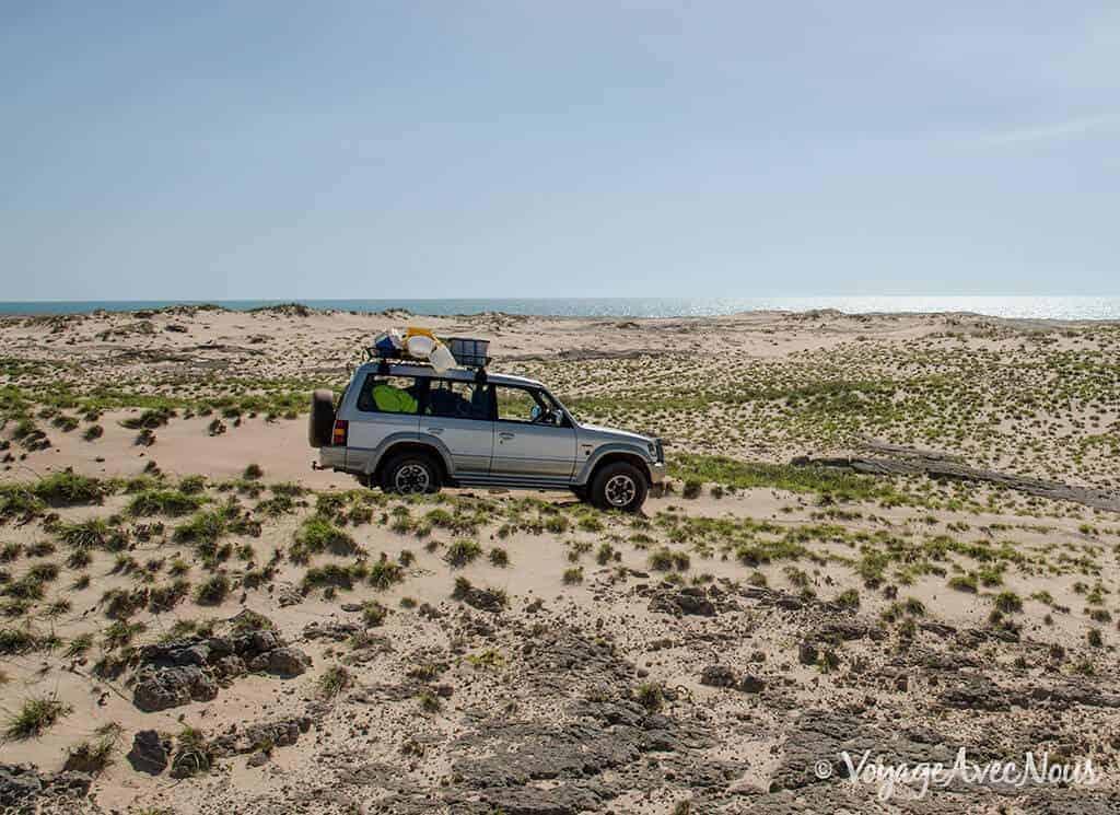 Australie 4x4 Pajero 3500