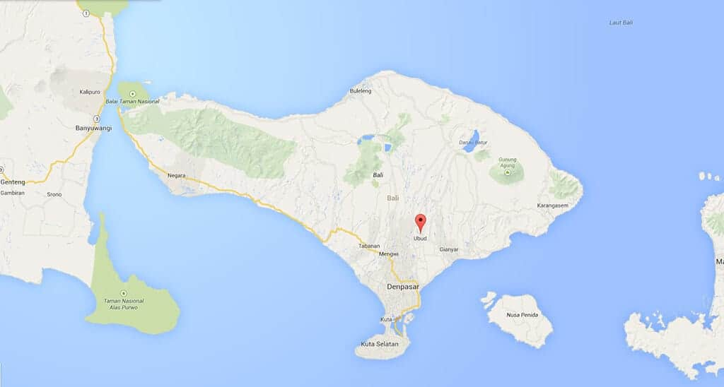 localisation-ubud-bali-map