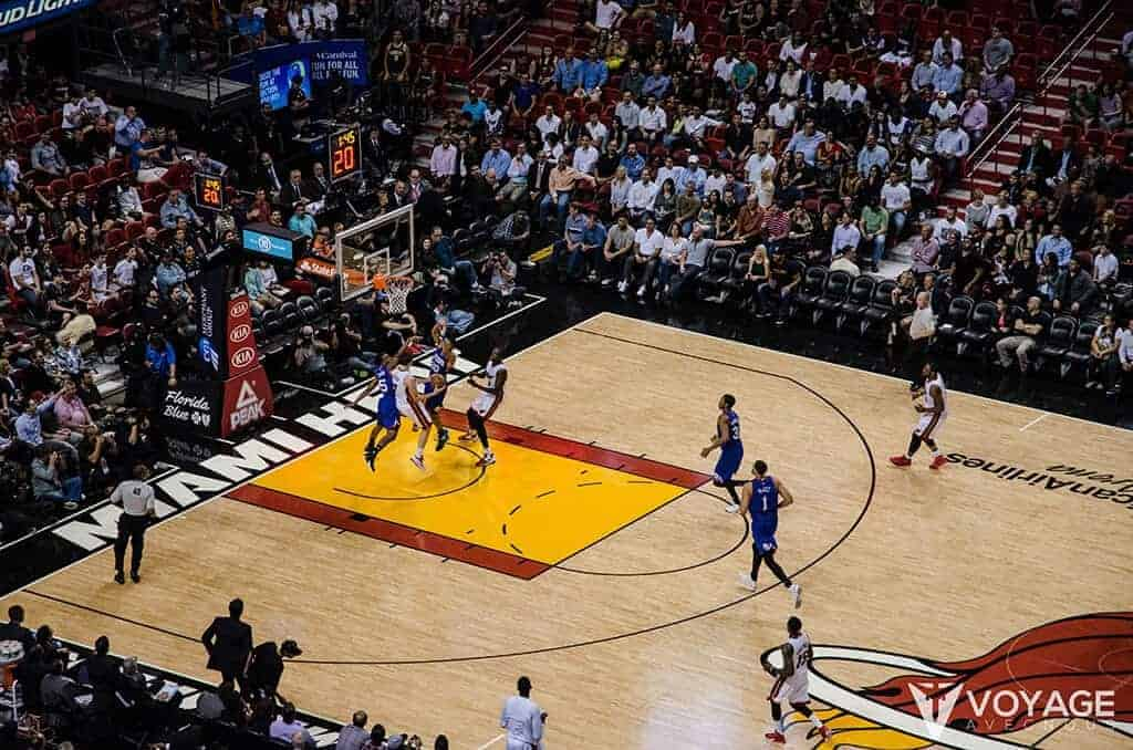 match basket nba miami heat