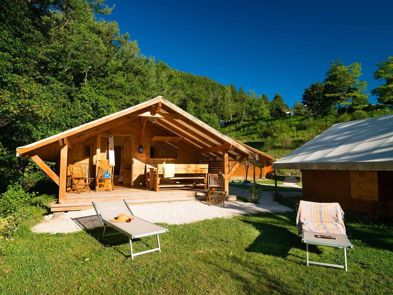 Le camping haut de gamme en france voyageavecnous - Sauna infrarouge haut de gamme ...