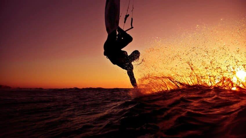 kitesurf-coucher-soleil