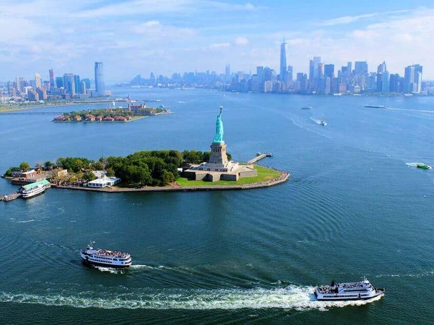 Points de vue a New York - vue depuis l'helicoptere
