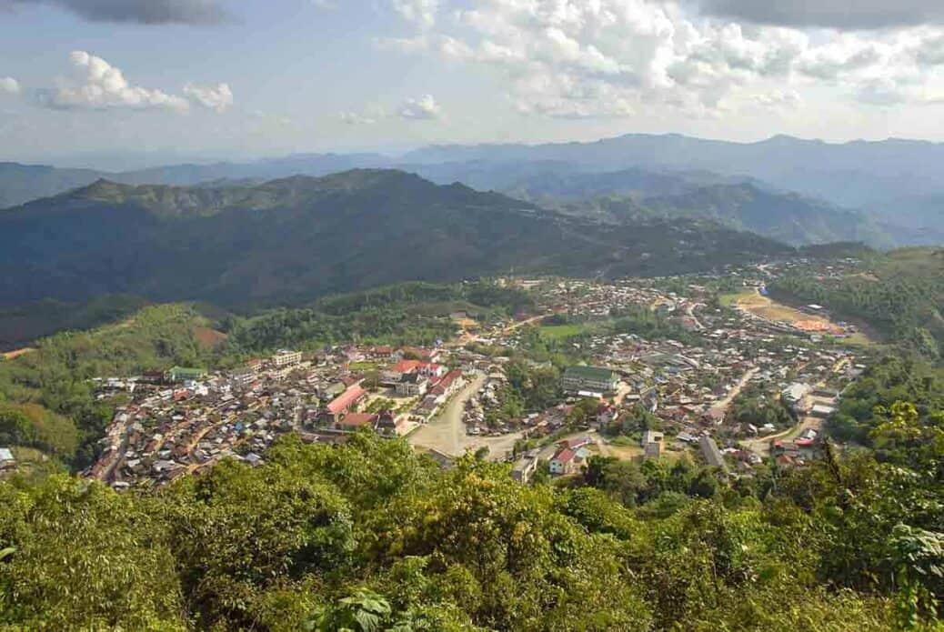 Phongsali-laos