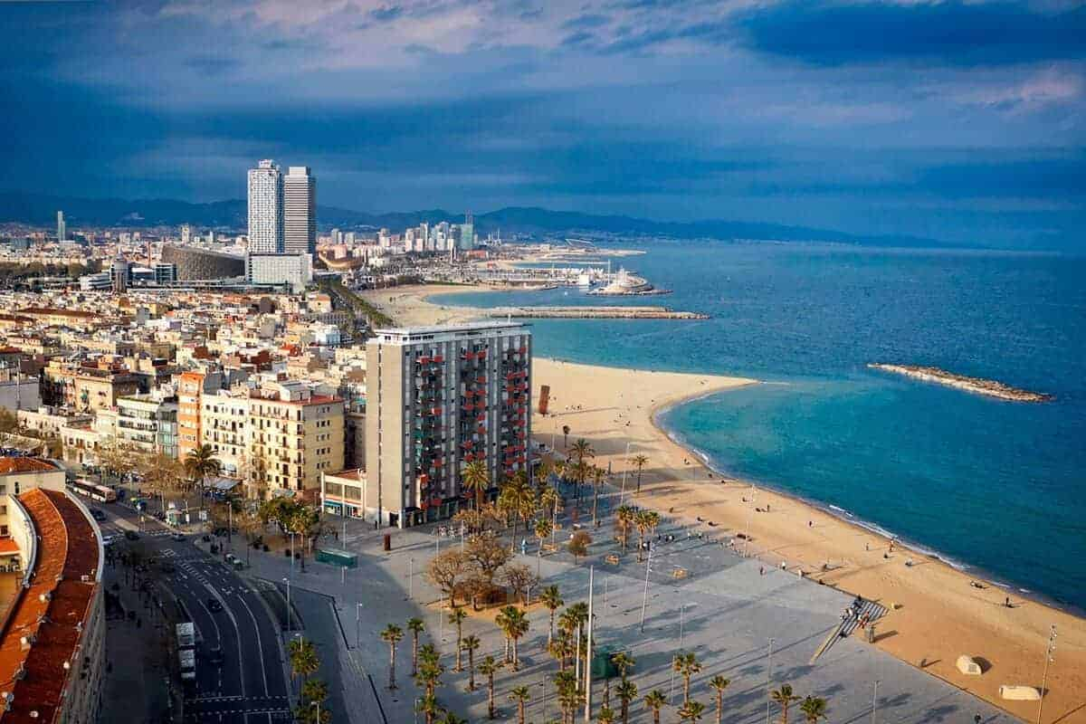 barcelone-plage-barceloneta