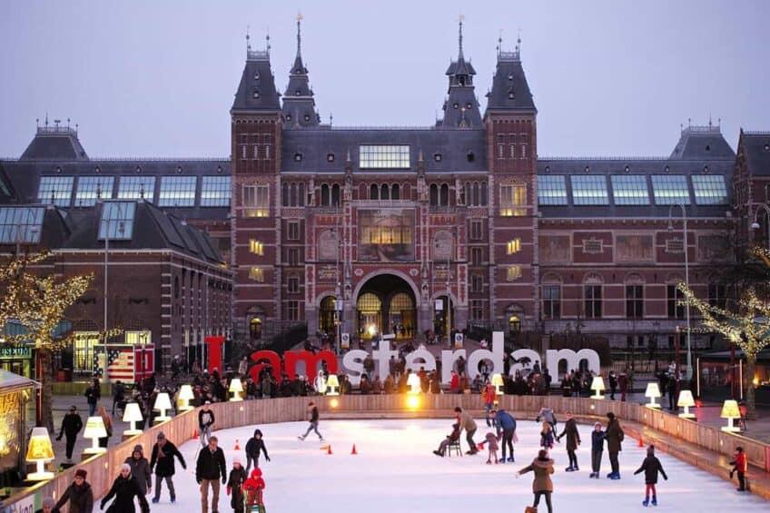 amsterdam-hiver-patinoire