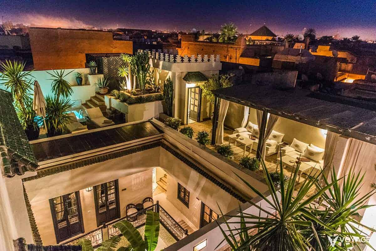 dormir riad marrakech