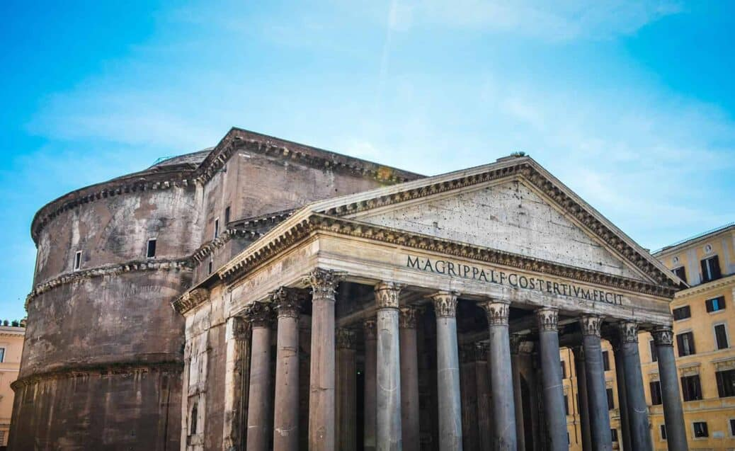 découvrir le pantheon à rome