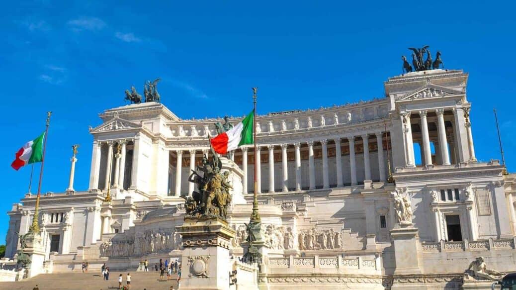 visiter rome et la piazza venezia