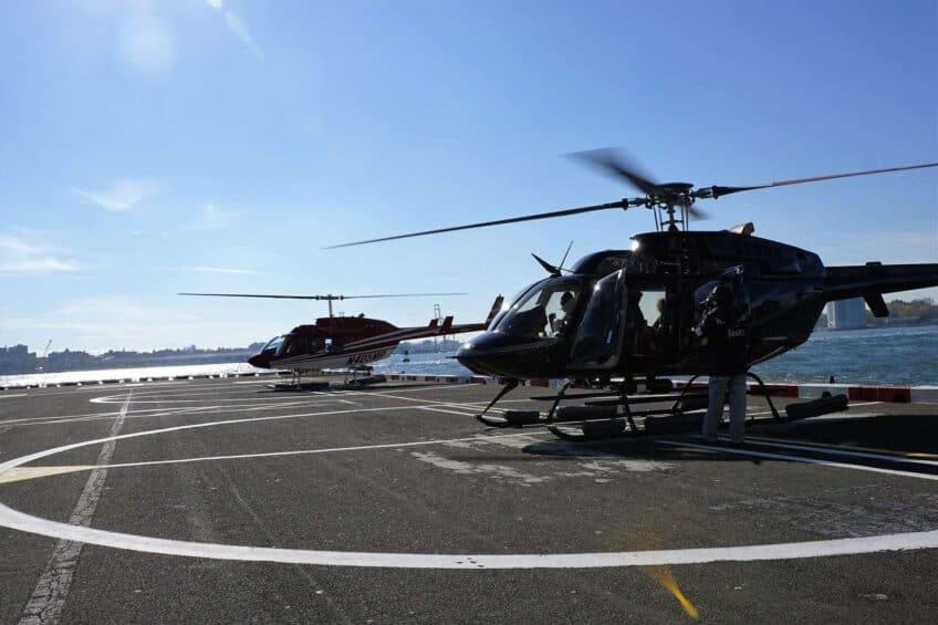 decouvrir new york en helicoptere