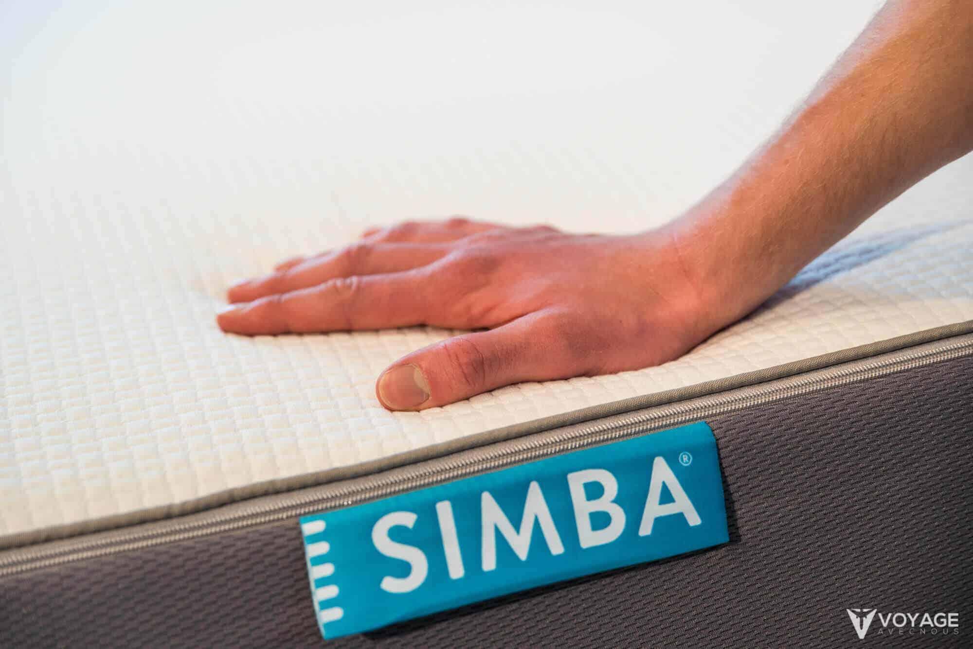 avis simba matelas notre test complet avis sur le matelas simba. Black Bedroom Furniture Sets. Home Design Ideas