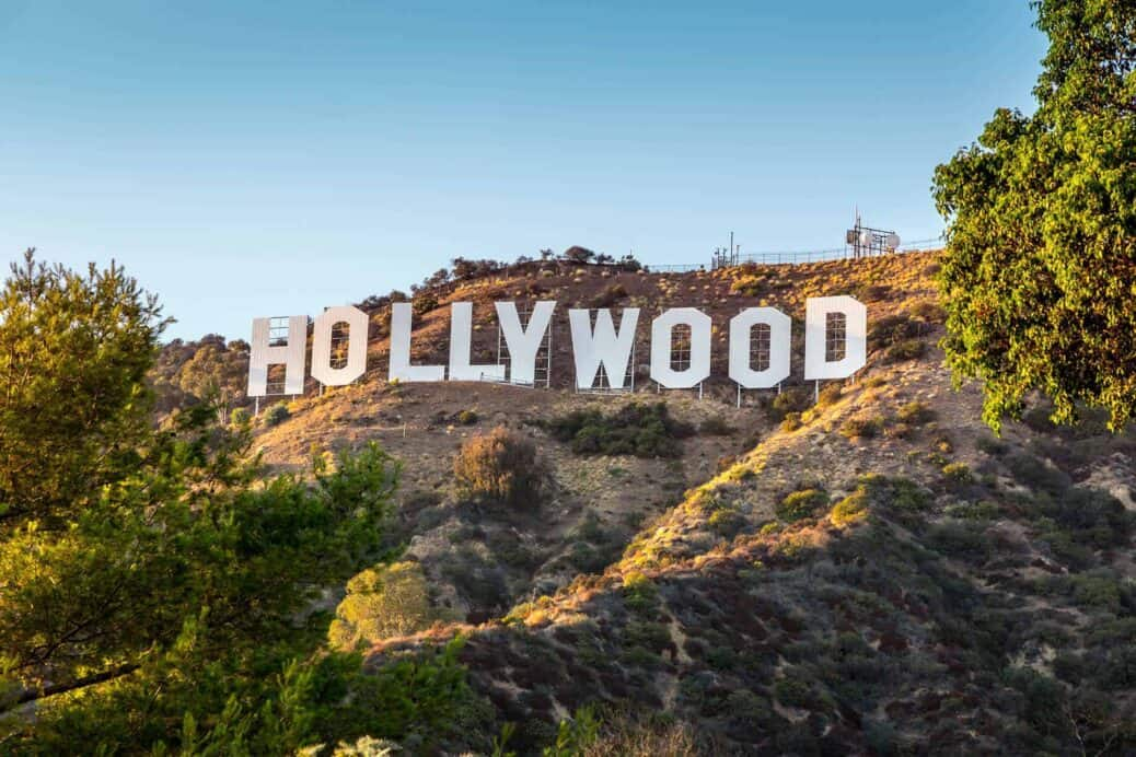 visiter le signe hollywood