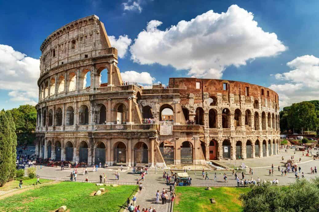 visiter rome et le colisée