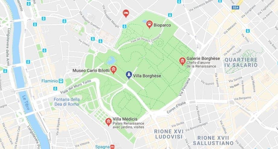 Villa Borghese Rome Visite Et Decouverte De La Galerie