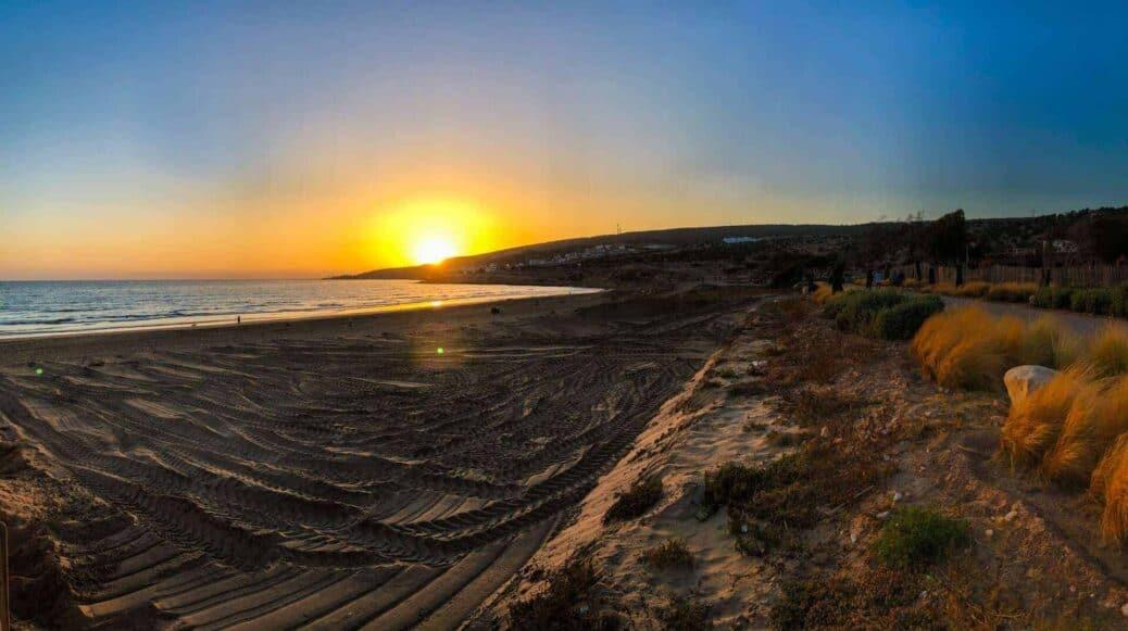coucher de soleil taghazout