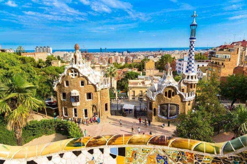 visiter parc guell