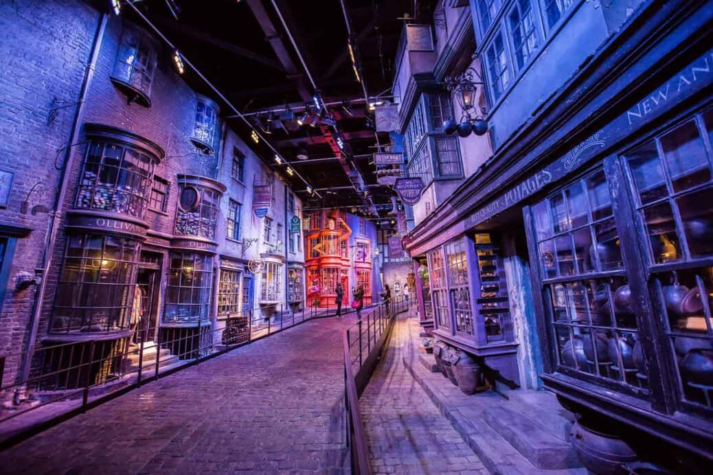 parc harry potter londres