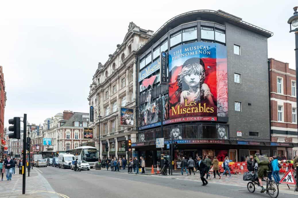 Londres comédies musicales