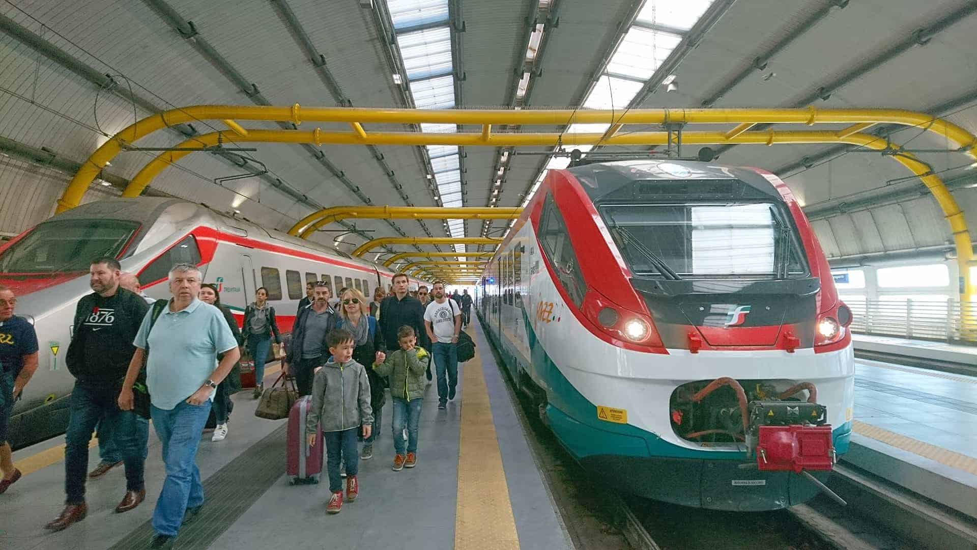 train leonardo express
