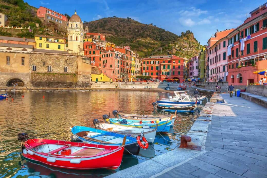 le village de vernazza