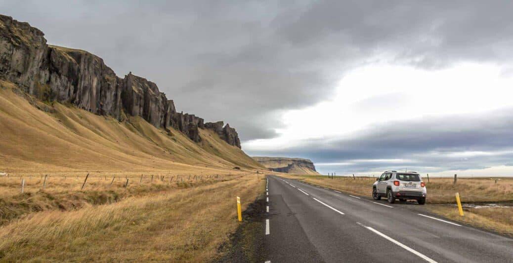 louer une voiture en islande