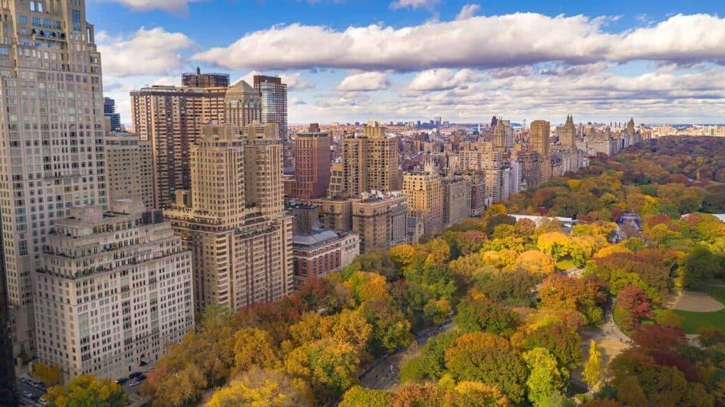 automne new york