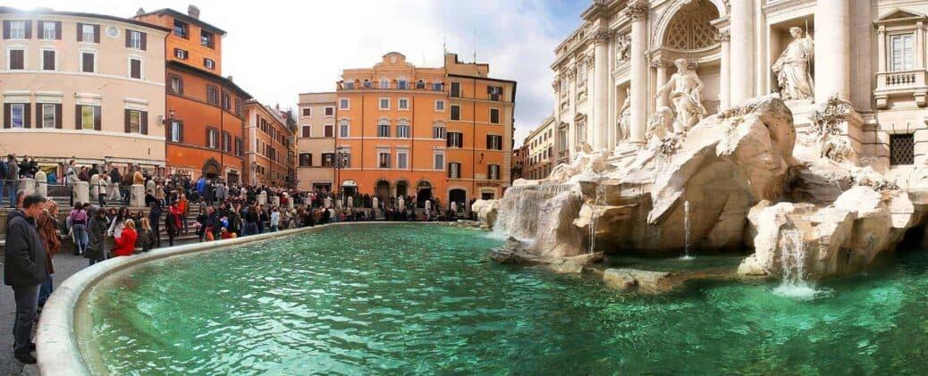 visiter fontaine de trevi
