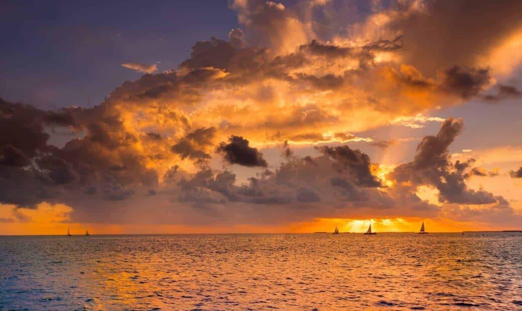 coucher soleil key west