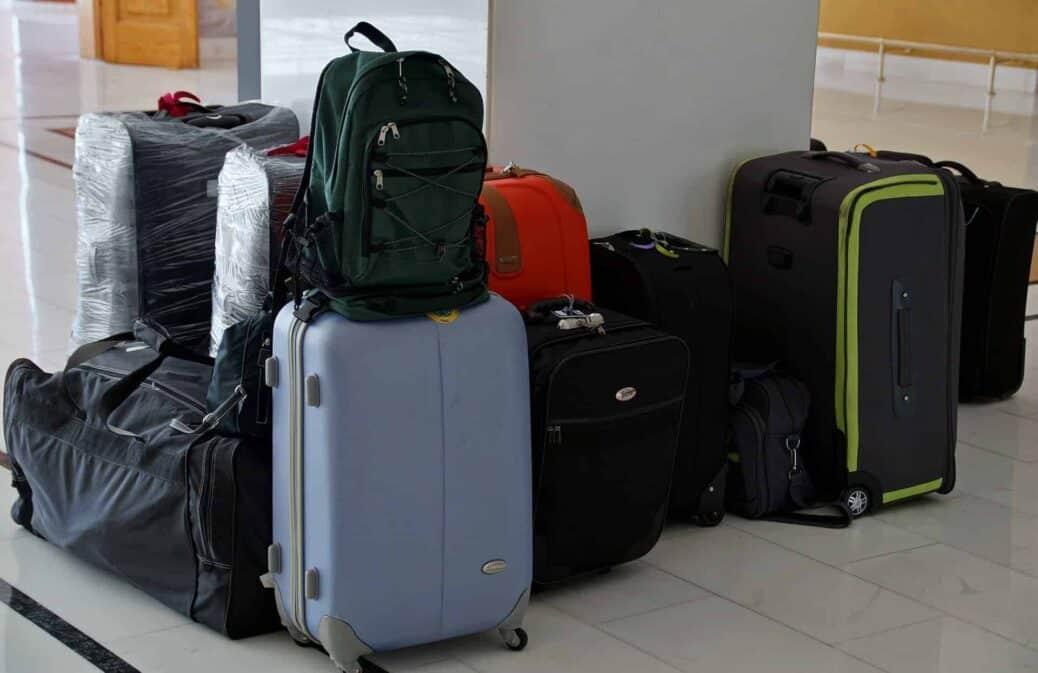 voyager avec une valise