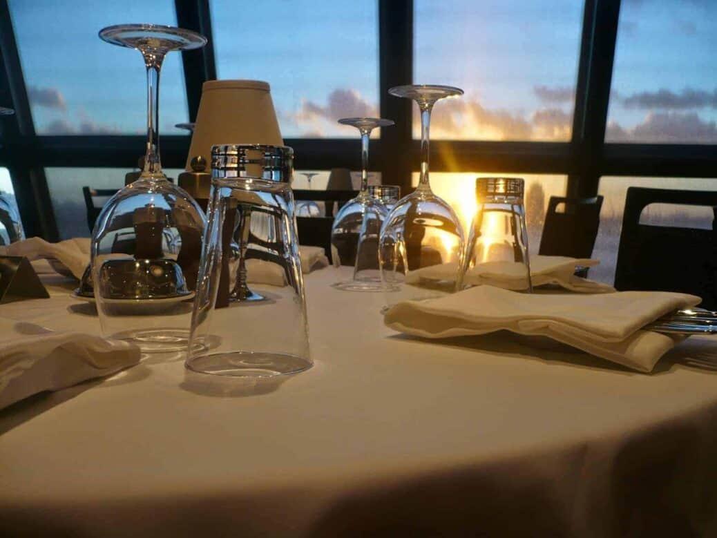 restaurant bateau MSC