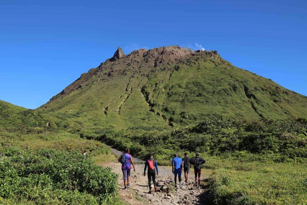 ascension volcan souffriere guadeloupe