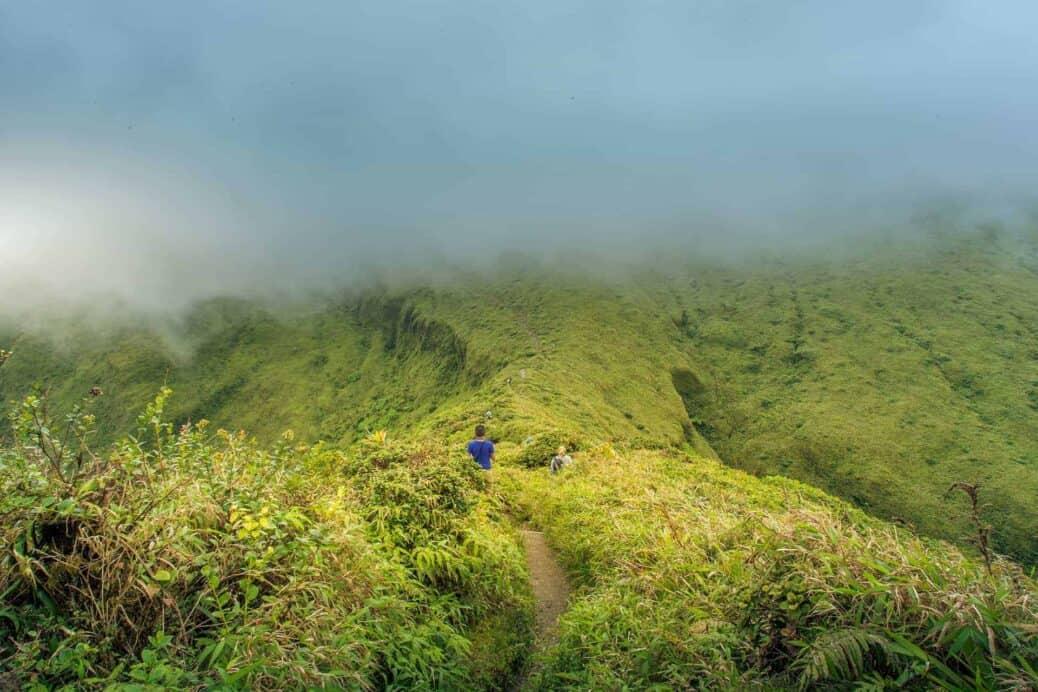 randonnee montagne pelee