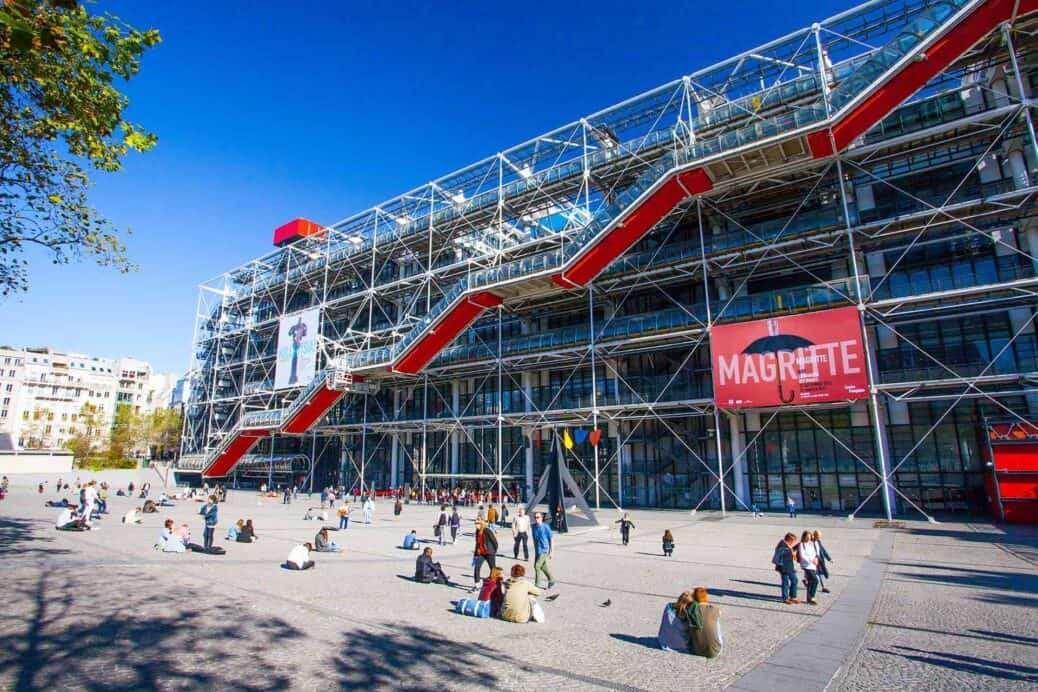 visiter centre pompidou