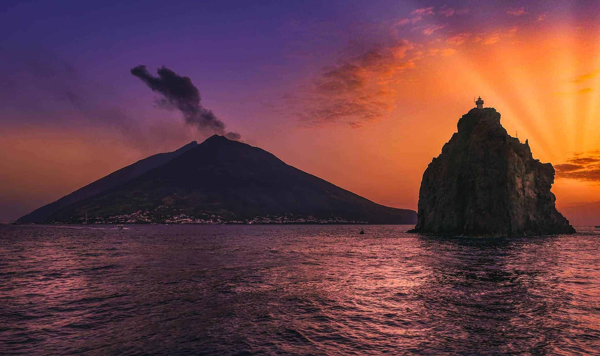 le plus grand volcan