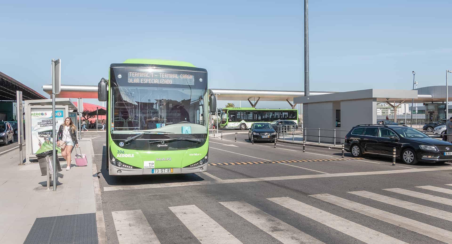 aerobus transport lisbonne