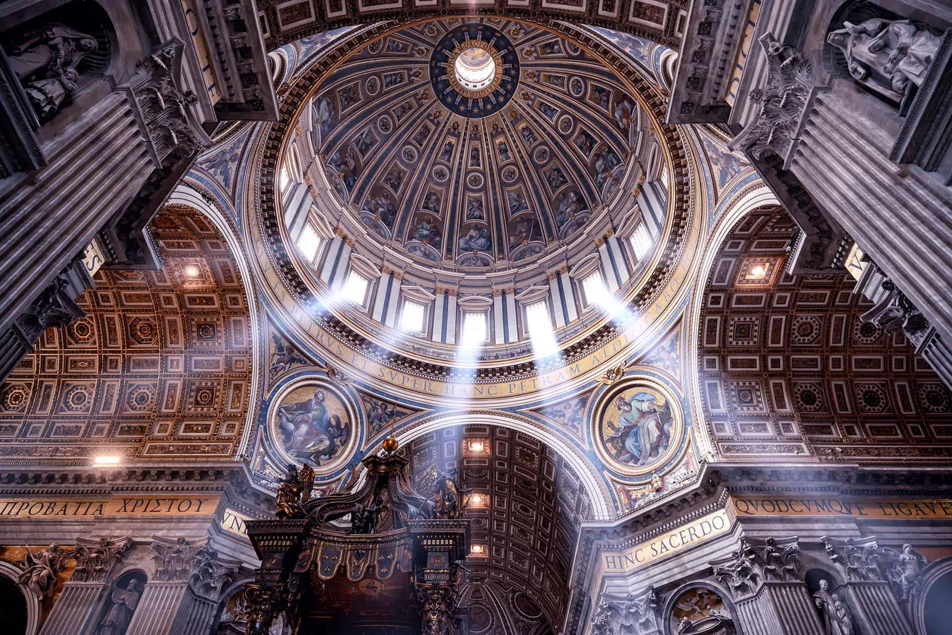 coupole basilique st pierre