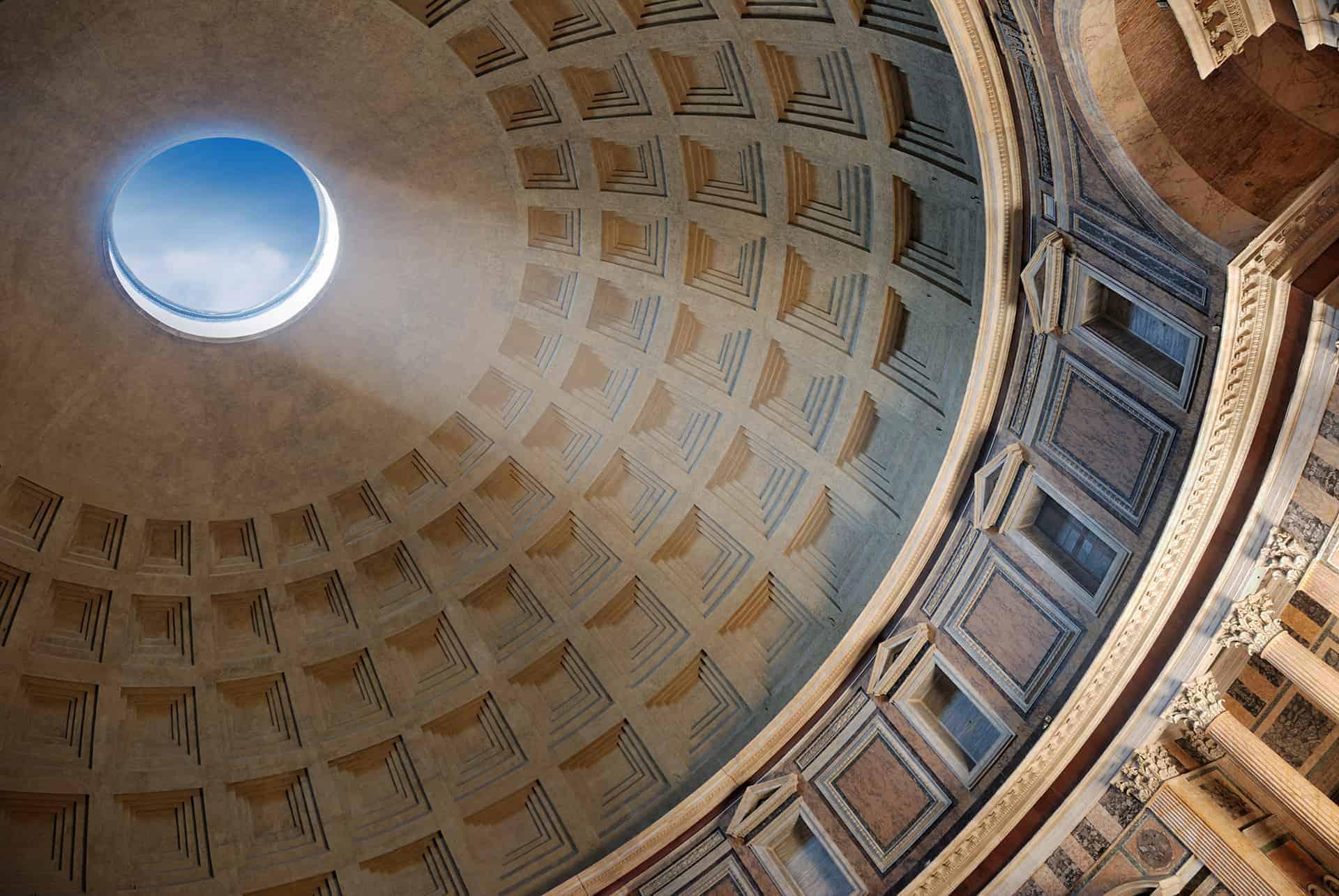 grande coupole pantheon