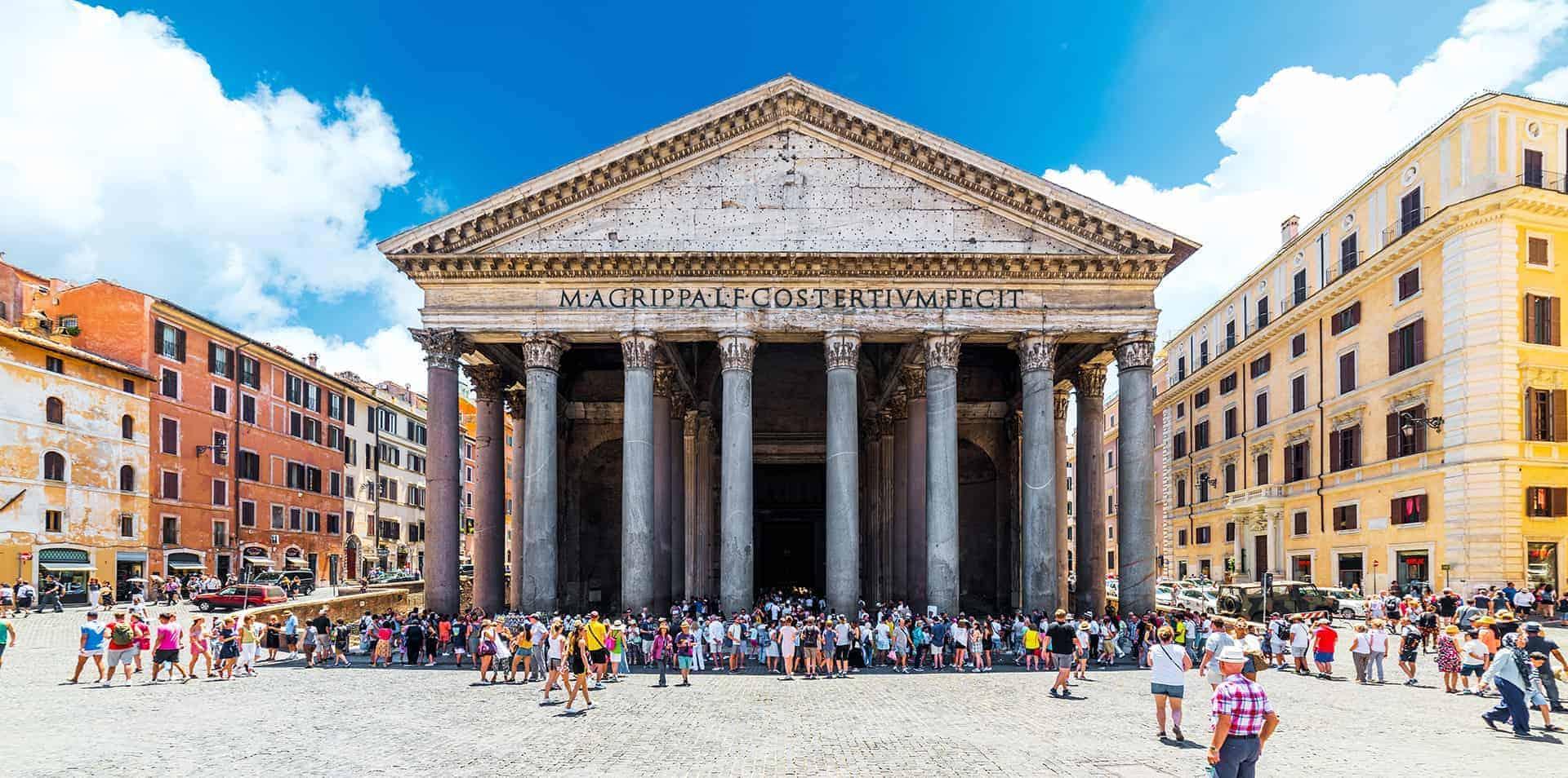 visiter le pantheon a rome