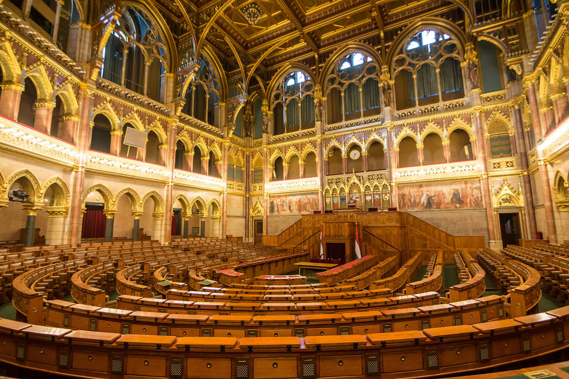 chambre parlement budapest