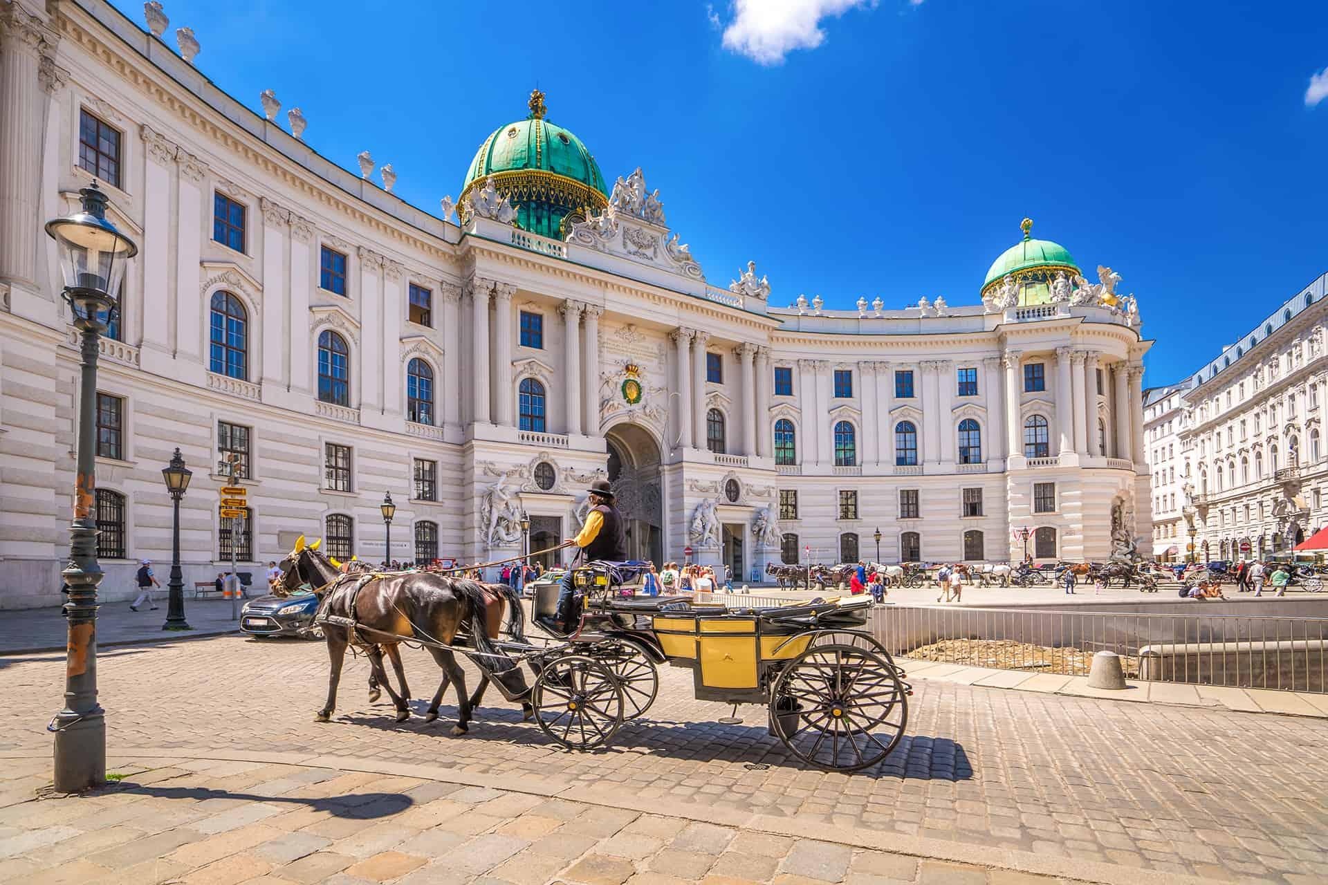 palais imperial hofburg vienne