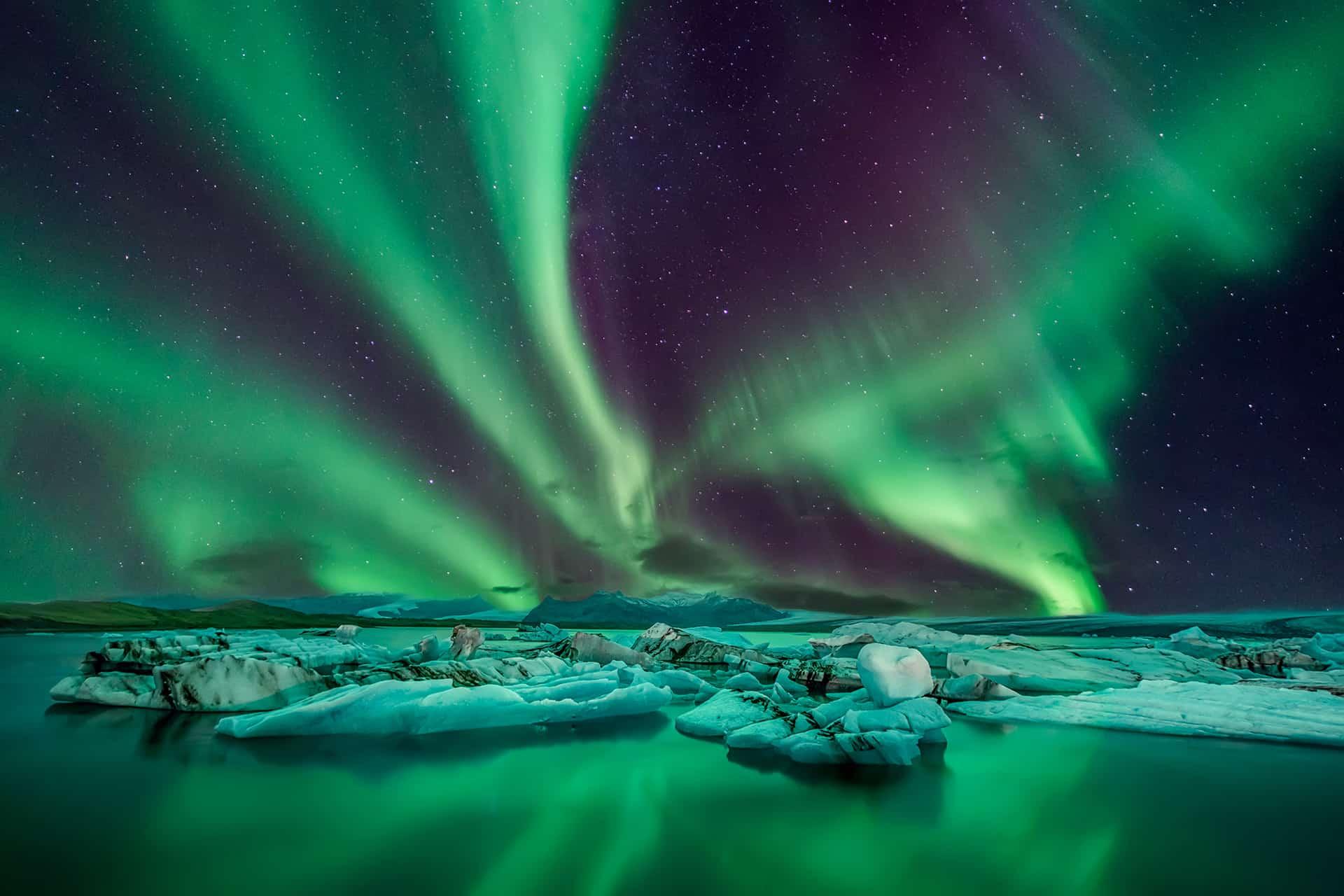 saison aurores boreales islande